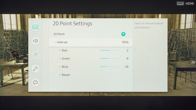 Samsung MU8000 Calibration Settings 26