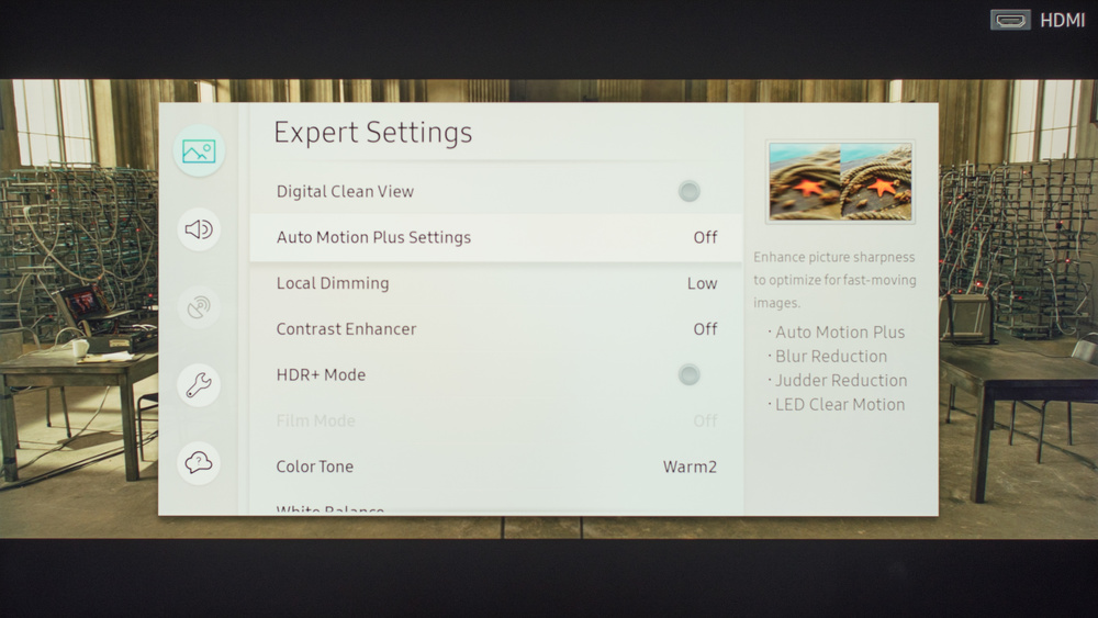 Samsung MU8000 Calibration Settings 3