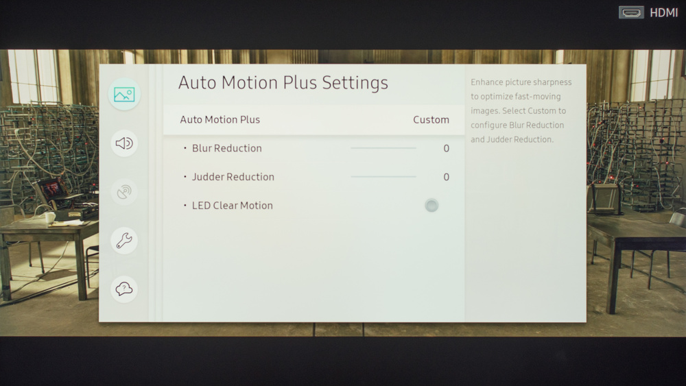 Samsung MU8000 Calibration Settings 4