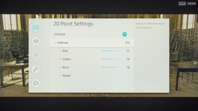 Samsung MU8000 Calibration Settings 8