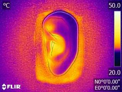 Sennheiser PXC 250 II Breathability Before Picture