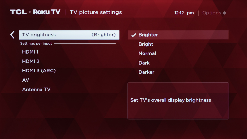 TCL 3 Series 2019 Calibration Settings 22