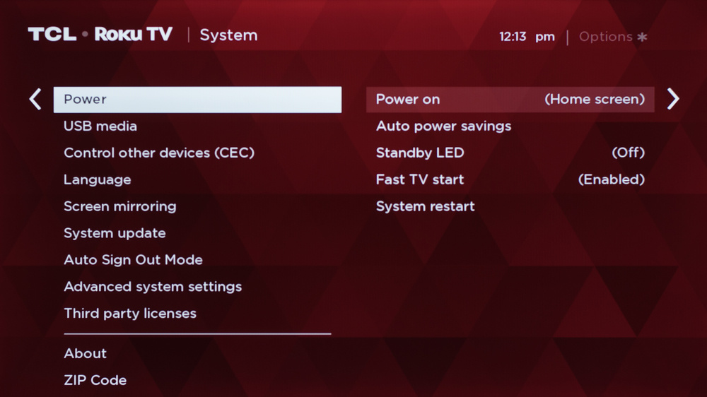 TCL 3 Series/S325 2019 Calibration Settings 35
