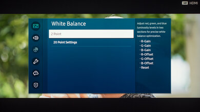 Samsung Q80/Q80T QLED Calibration Settings 18