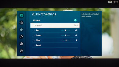 Samsung Q80/Q80T QLED Calibration Settings 33