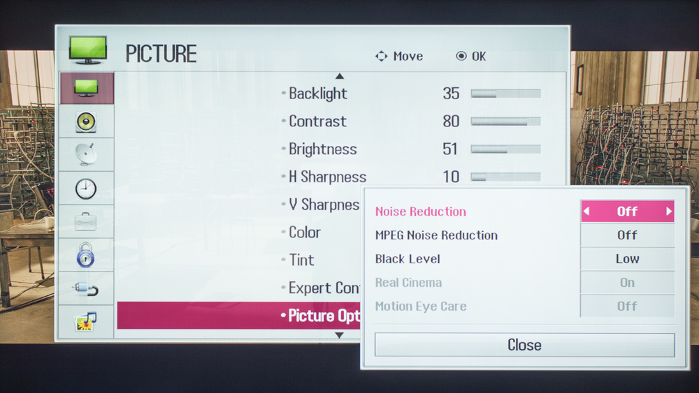 LG LF5500 Calibration Settings 2