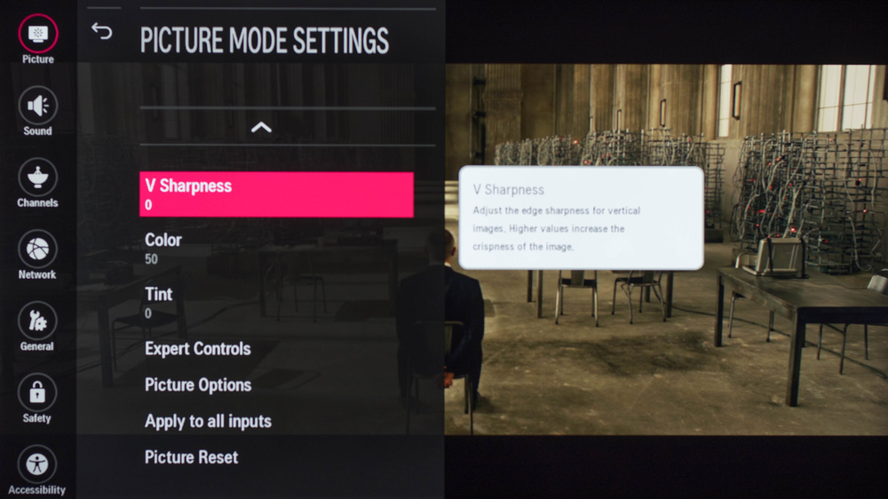 LG LH5750 Calibration Settings 3