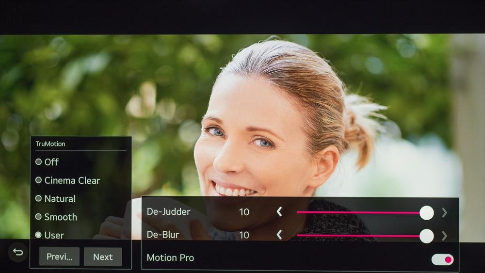 LG NANO90 Calibration Settings 102