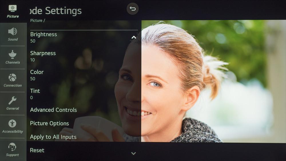 LG NANO90 Calibration Settings 15