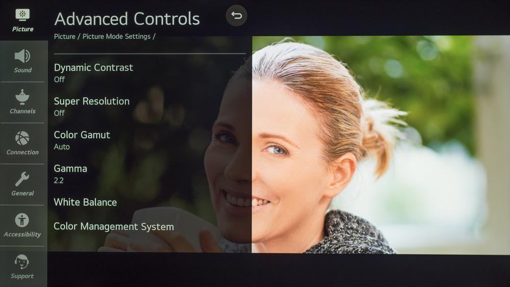 LG NANO90 Calibration Settings 26