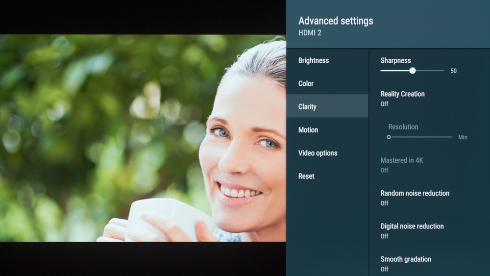 Sony A8G OLED Calibration Settings 20