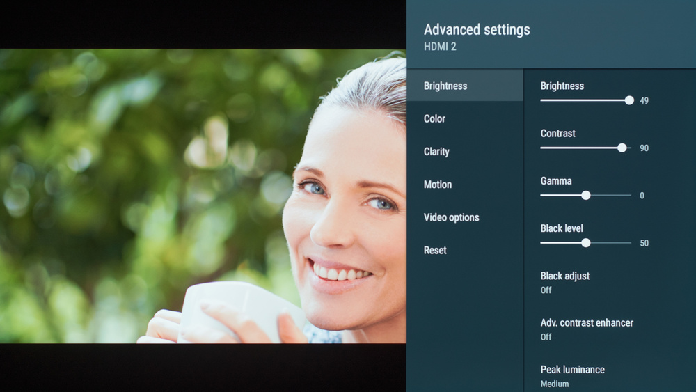 Sony A8G OLED Calibration Settings 7