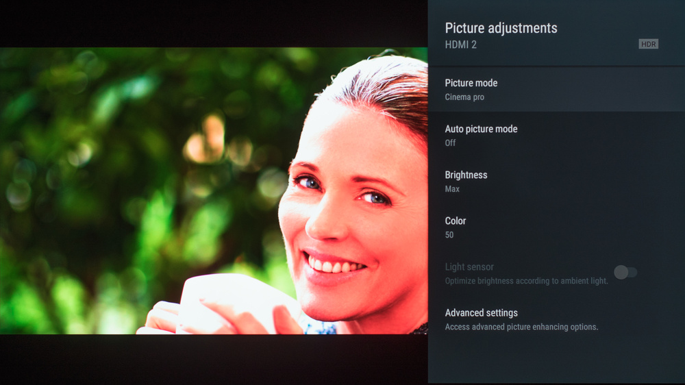 Sony A8G OLED Calibration Settings 93