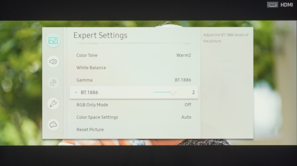 Samsung The Frame 2018 Calibration Settings 9