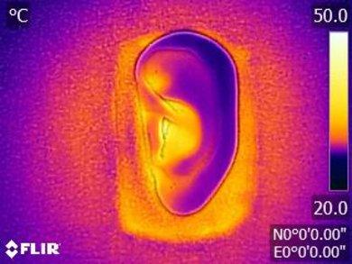 Grado SR225e Breathability Before Picture