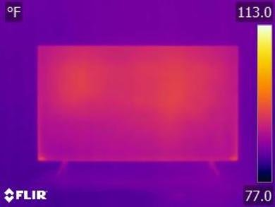 Samsung Q70/Q70R QLED Temperature picture