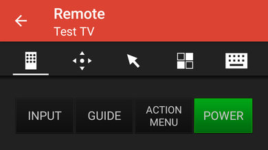 Sony A8G OLED Remote App Picture