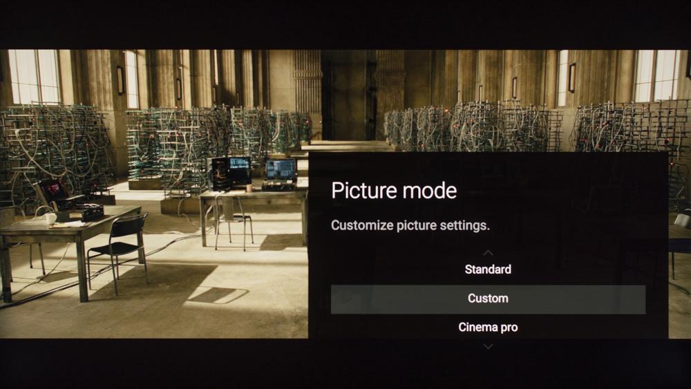 Sony X930E Calibration Settings 1