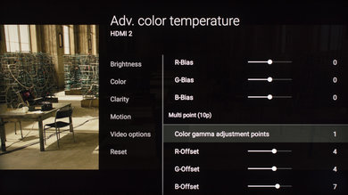 Sony X930E Calibration Settings 10