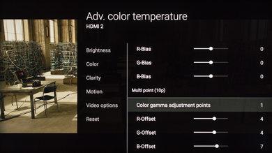 Sony X930E Calibration Settings 10