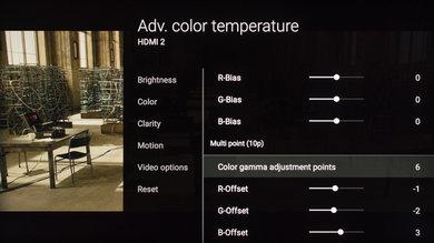 Sony X930E Calibration Settings 15
