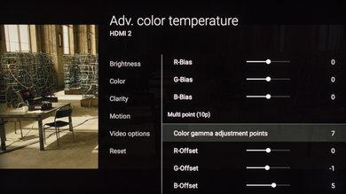 Sony X930E Calibration Settings 16
