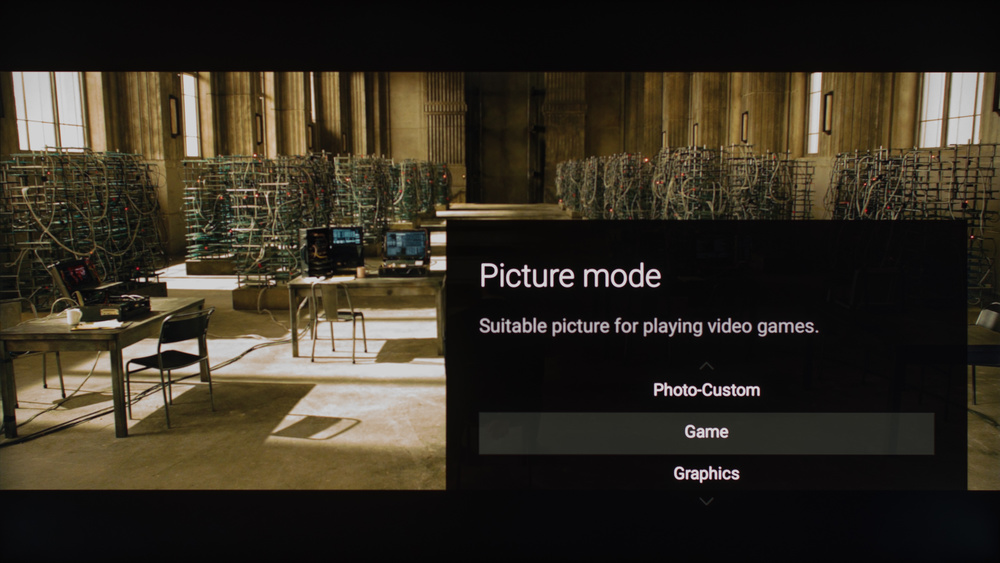Sony X930E Calibration Settings 2