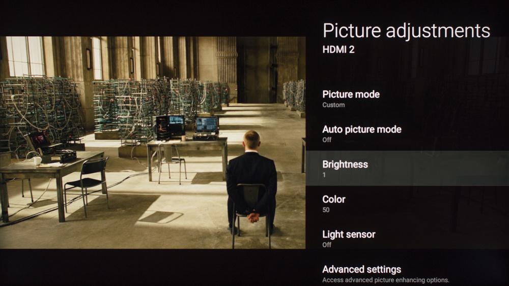 Sony X930E Calibration Settings 3