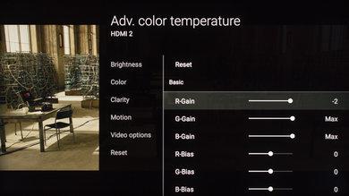 Sony X930E Calibration Settings 9