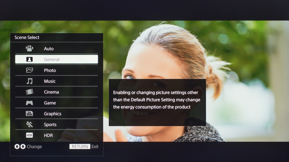 Sony X720E LED TV Calibration Settings - RTINGS com