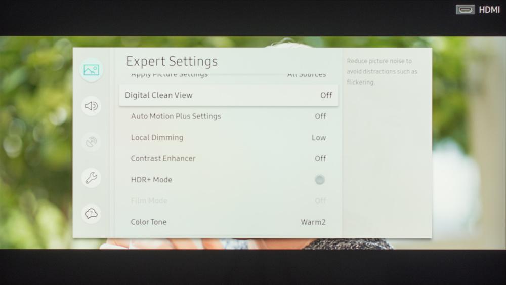 Samsung NU8000 Calibration Settings 11