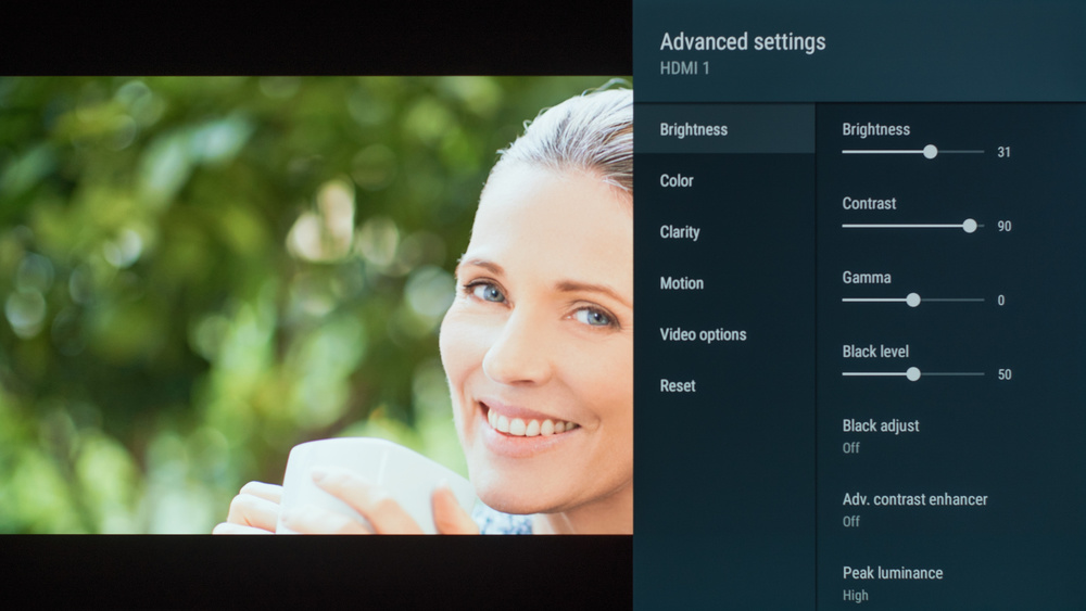 Sony A9G OLED Calibration Settings 16