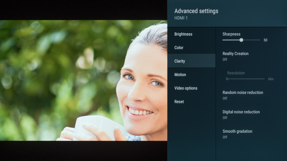 Sony A9G OLED Calibration Settings 35