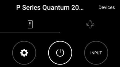 Vizio P Series Quantum Remote App Picture