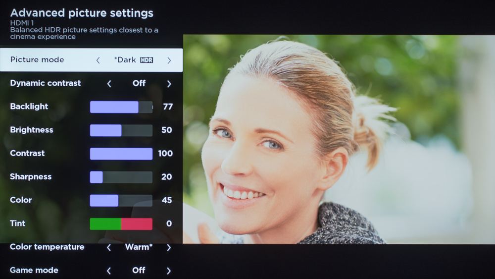 TCL 4 Series 2019 Calibration Settings 108