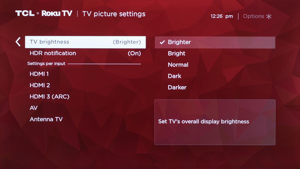TCL 4 Series 2019 Calibration Settings 41