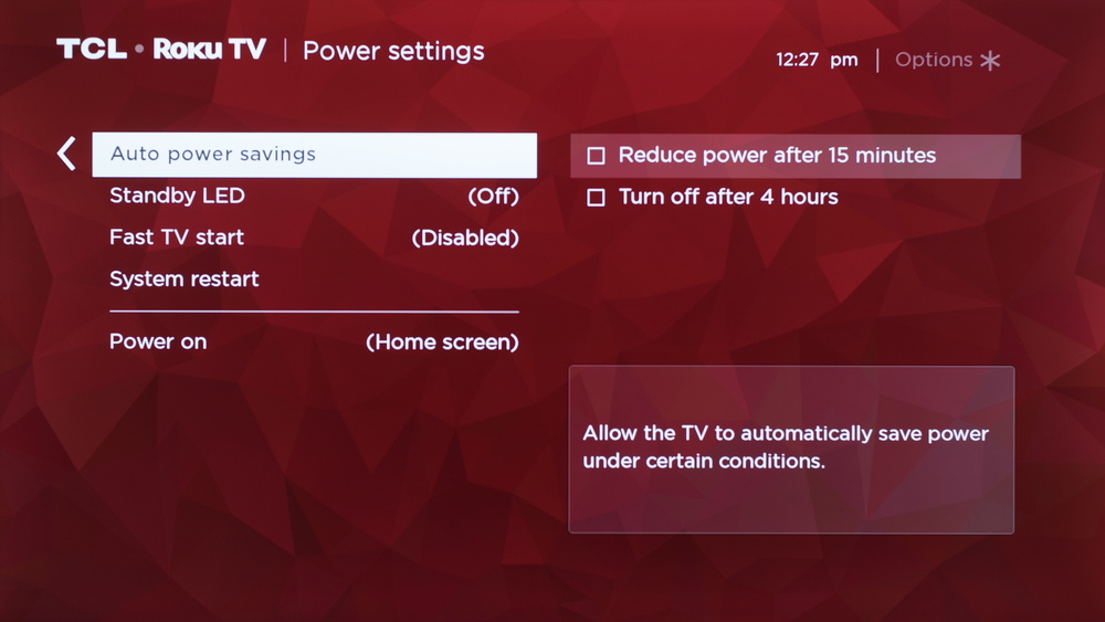 TCL 4 Series 2019 Calibration Settings 68