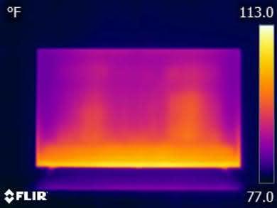 LG UK7700 Temperature picture