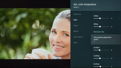 Sony X850G Calibration Settings 161