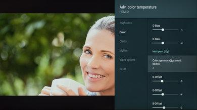 Sony X850G Calibration Settings 162