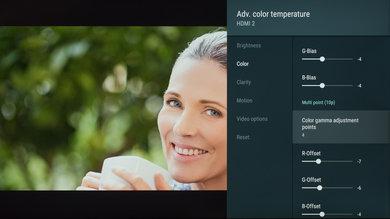 Sony X850G Calibration Settings 163