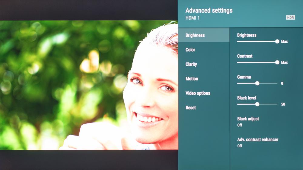 Sony X850G Calibration Settings 172