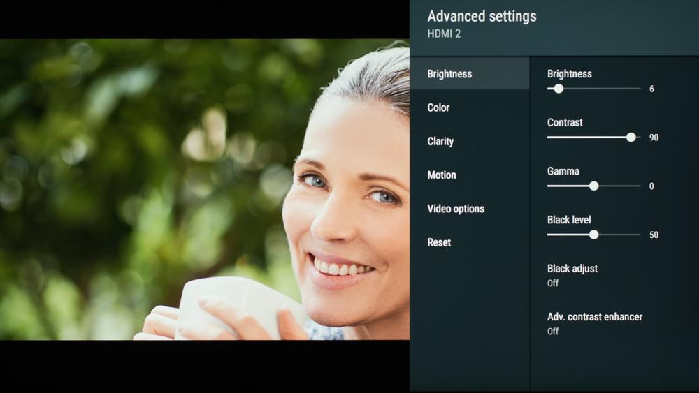 Sony X850G Calibration Settings 36