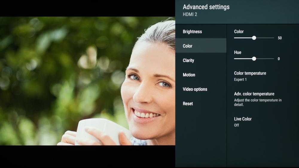 Sony X850G Calibration Settings 43