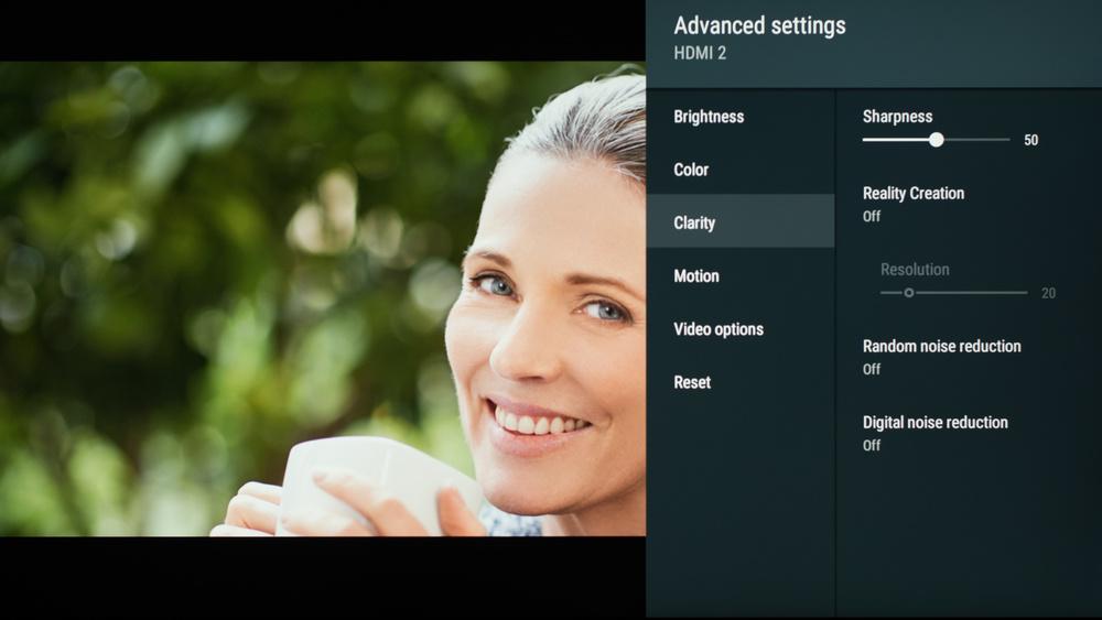 Sony X850G Calibration Settings 51