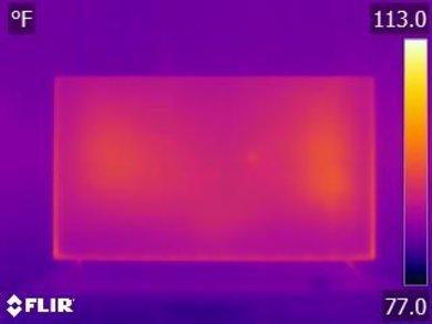 Vizio M Series 2018 Temperature picture