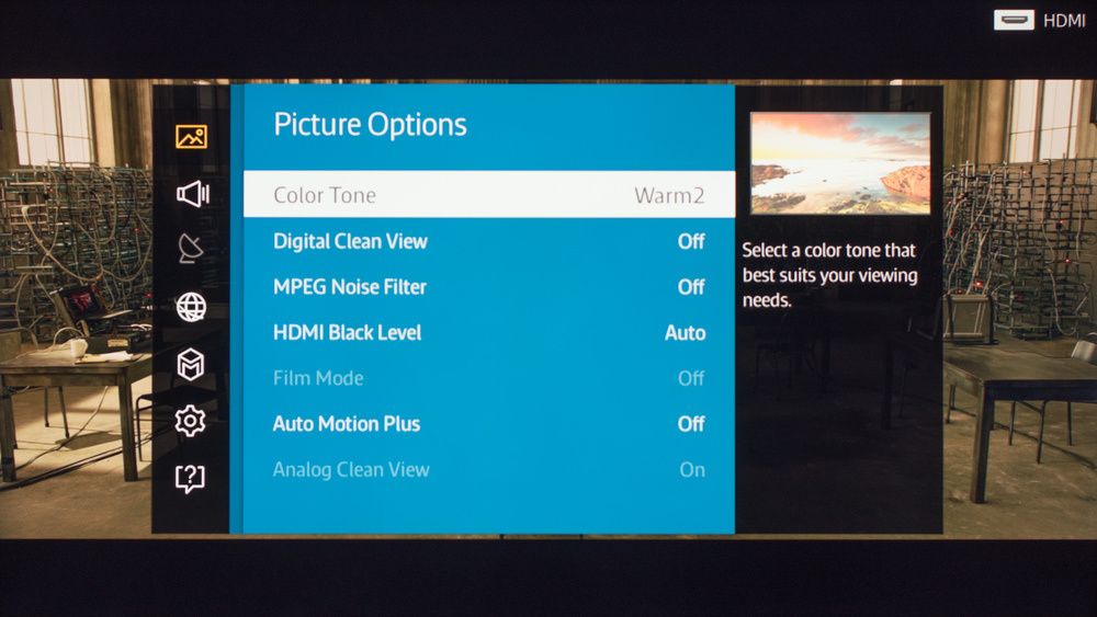 Samsung J6300 Calibration Settings 3