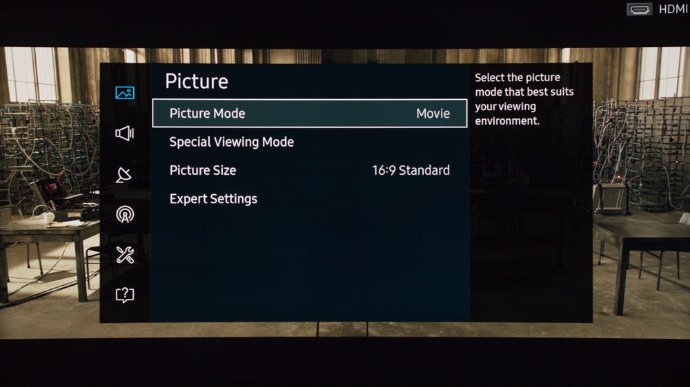 Samsung KU6500 Calibration Settings 2