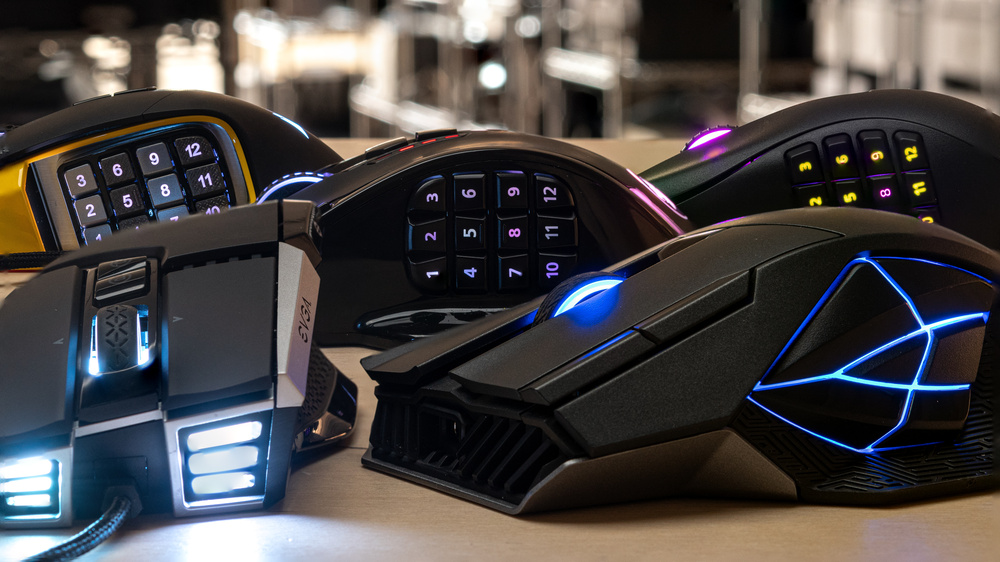 mejores mouse MMORPG