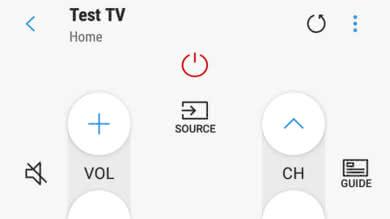 Samsung NU6900 Remote App Picture